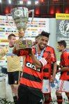 Entrega da Taça Guanabara - 23/03 - Flamengo campeão - Maracanã